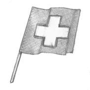 Décoration suisse (drapeaux, etc.)