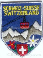 Ecusson à coudre suisse