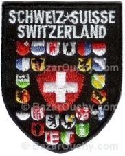 Ecusson suisse à coudre