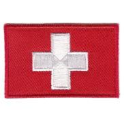 Ecusson suisse brodé à coudre