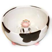 Bol avec vache dedans à l'intérieurBol avec vache dedans à l'intérieur