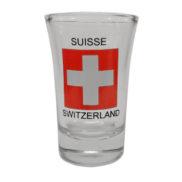 Verre à shot - liqueur suisse