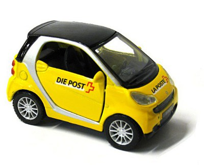 la poste suisse ptt voiture smart. Black Bedroom Furniture Sets. Home Design Ideas