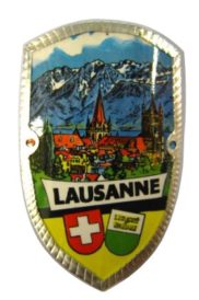 Plaque à canne Lausanne