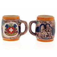 Petite chope à bière suisse