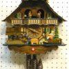 Horloge coucou suisse pendule chalet