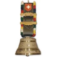 Cloche suisse en bronze