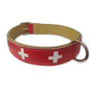 Collier de chien - Croix suisse