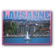 Carte postale Lausanne