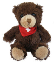 Ours suisse peluche