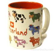 Tasse vache suisse