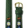 bracelet folklorique suisse fleur
