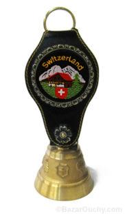 Cloche en bronze suisse chalet