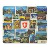 Tapis de souris vue suisse