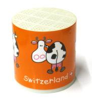 Boite à vache meuh suisse