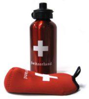 Gourde croix suisse