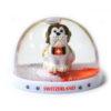 Boule à neige chien Saint-Bernard