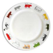 Assiette vache suisse