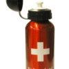 Gourde bouteille croix suisse