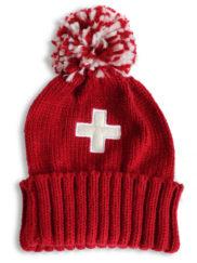 Bonnet rouge croix suisse