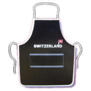 Tablier suisse et gant de cuisine