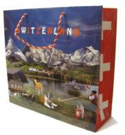 Sac cadeau suisse papier