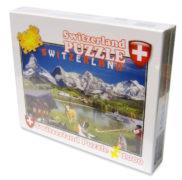 Puzzle paysage suisse