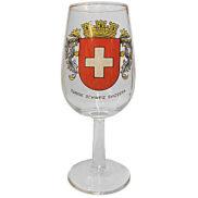 Verre à vin suisse - Pied