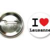 Badge I love lausanne