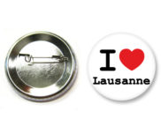 Badge I love lausanne