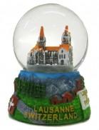 Boule à neige Lausanne Cathédrale