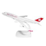 Avion suisse en métal Boeing