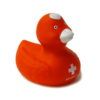 Canard de bain croix suisse