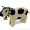 Vache en bois suisse