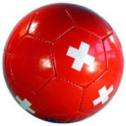 Balon foot croix suisse