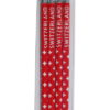 Crayon croix suisse rouge