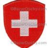 Ecusson croix suisse fédéral brodé