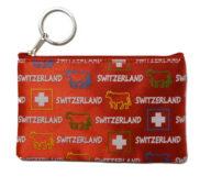 Porte monnaie vache suisse