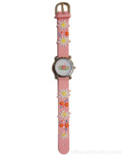 Montre edelweiss rose