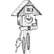 Swiss cuckoo clock and other cuckoos