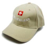 Casquette drapeau suisse