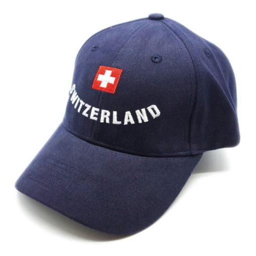 Casquette croix suisse