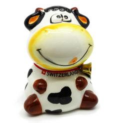 Tirelire vache suisse