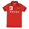 Polo Suisse rouge