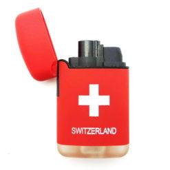 Briquet croix suisse
