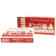 Boite allumette suisse - Motif découpage