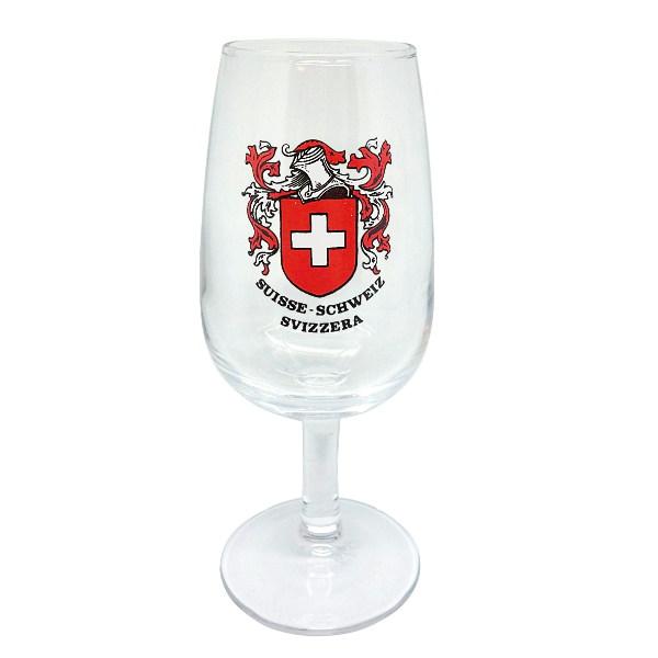 Verre de vin suisse
