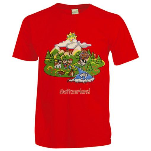 T shirt suisse Switzerland