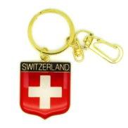 Porte clé drapeau suisse