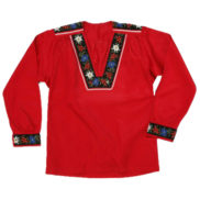 Chemise suisse armailli traditionnelle